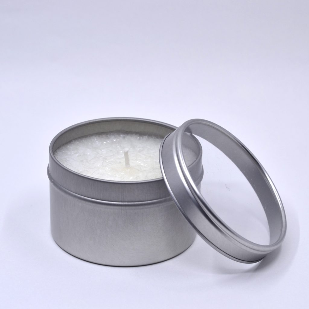6 Oz Silver tins