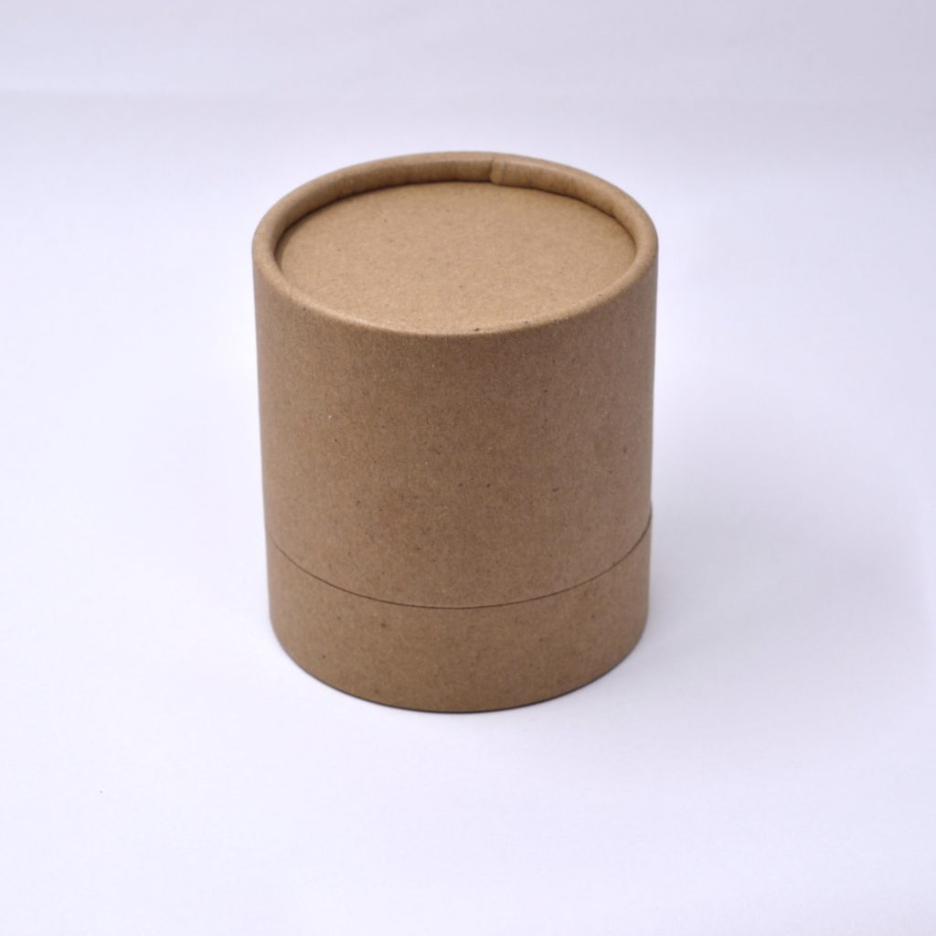 Brown Kraft Tube Box