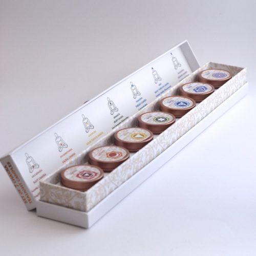 Chakra Tealight Box Open
