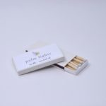 Custom Match boxes with white match sticks
