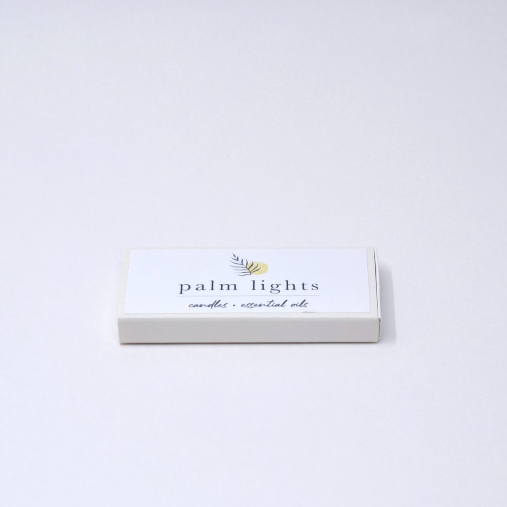 Match box with custom logo