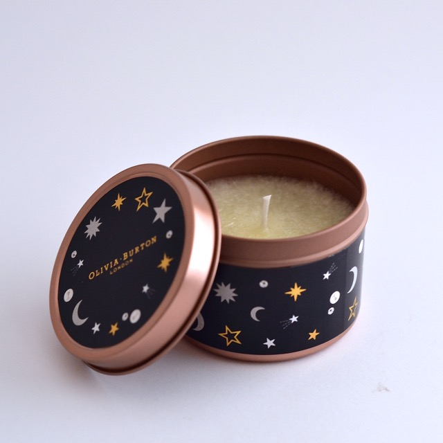 Rose Gold tin candles 6 Oz 69x52mm