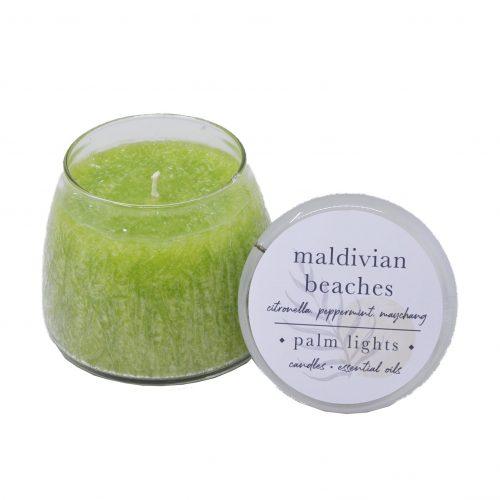 Maldivian Beaches Glass Jar
