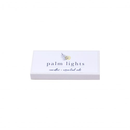 Palm Lights Match Box