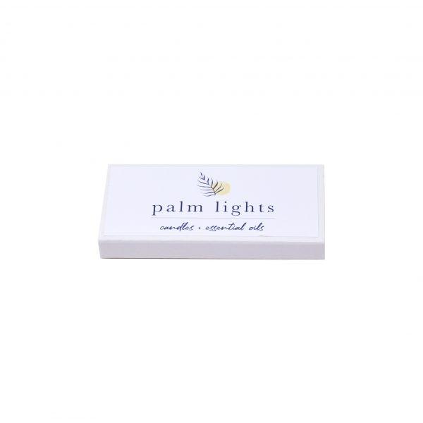 Palm Lights Match Box
